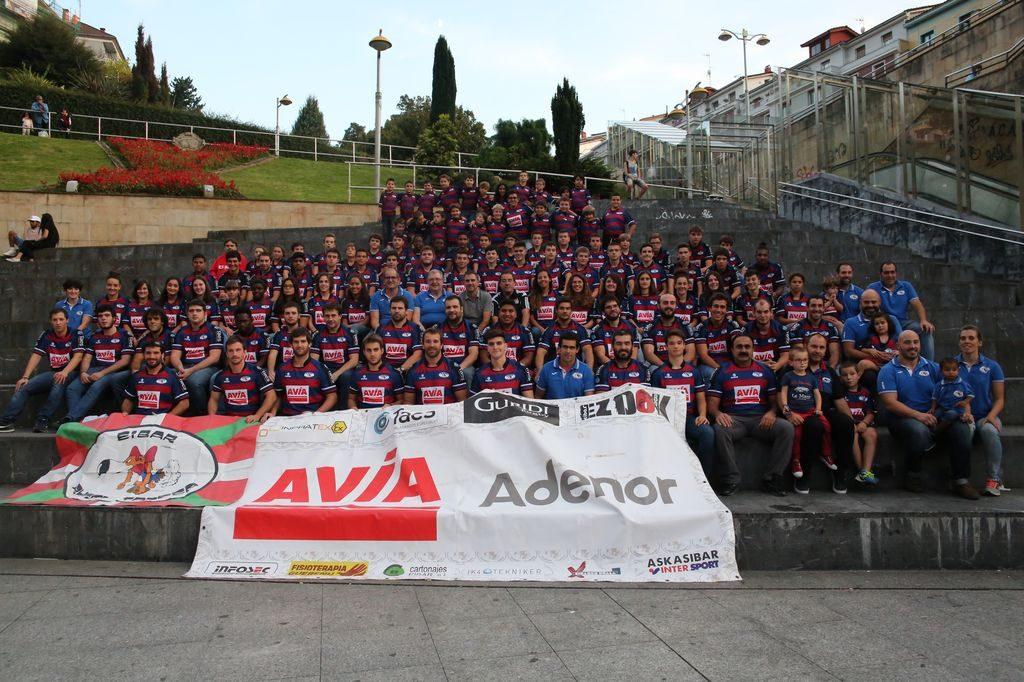Avia Eibar Rugby Taldeko 2017ko aurkezpena